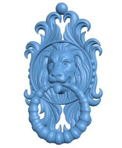 Ruchka solvom Lion B003292 file stl free download 3D Model for CNC and 3d printer