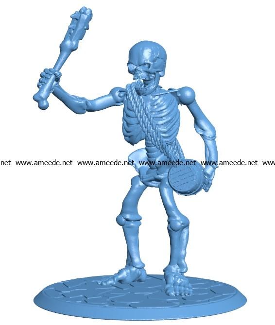 Skeleton Giant B003698 file stl free download 3D Model for CNC and 3d printer