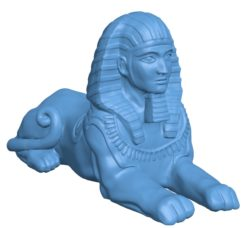 Sphinx B002866 file stl free download 3D Model for CNC and 3d printer