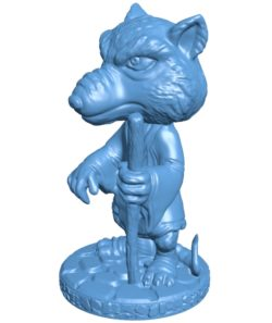 Splinter Model B003667 file stl free download 3D Model for CNC and 3d printer