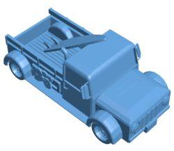 Surf truck 003734 file stl free download 3D Model for CNC and 3d printer