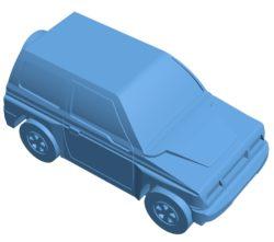 Suzuki Vitara Car B003445 file stl free download 3D Model for CNC and 3d printer