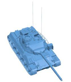 Tank AMX 30 B003015 file stl free download 3D Model for CNC and 3d printer