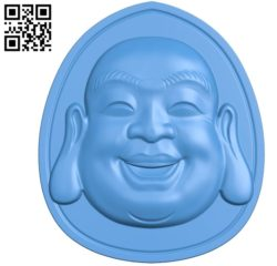 The head Maitreya Buddha A002804 wood carving file stl for Artcam and Aspire jdpaint free vector art 3d model download for CNC