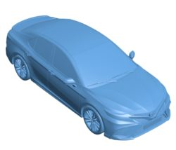 Toyota camry Car B003519 file stl free download 3D Model for CNC and 3d printer