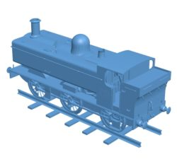 Train GWR 5700 B003690 file stl free download 3D Model for CNC and 3d printer