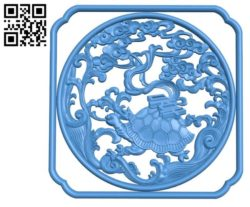 Turtle A002852 wood carving file stl for Artcam and Aspire jdpaint free vector art 3d model download for CNC