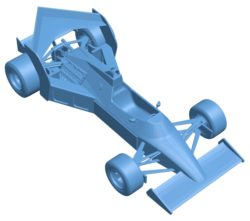 Tyrrell 012 Boomerang Car B003670 file stl free download 3D Model for CNC and 3d printer