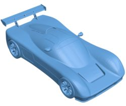 Ultima evolution car B003685 file stl free download 3D Model for CNC and 3d printer