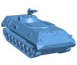 V14 tank B002923 file stl free download 3D Model for CNC and 3d printer