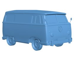 Volkswagen bus B003148 file stl free download 3D Model for CNC and 3d printer