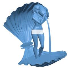 Woman B003616 file stl free download 3D Model for CNC and 3d printer