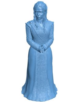 Woman Daenerys B003637 file stl free download 3D Model for CNC and 3d printer