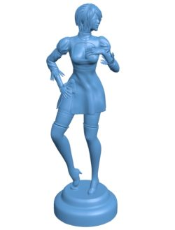 Woman Standing B002925 file stl free download 3D Model for CNC and 3d printer