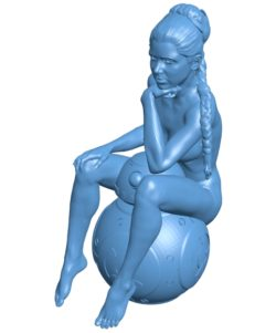 Women B003592 file stl free download 3D Model for CNC and 3d printer