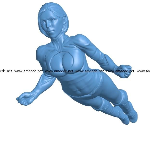 Women B003652 file stl free download 3D Model for CNC and 3d printer