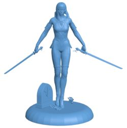 Women Paragon Countess Statuette B002939 file stl free download 3D Model for CNC and 3d printer