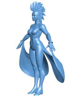 Women tempestade B003635 file stl free download 3D Model for CNC and 3d printer