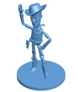 Woody Men B003658 file stl free download 3D Model for CNC and 3d printer