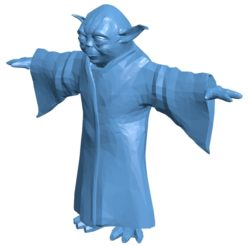 Yoda statue B003014 file stl free download 3D Model for CNC and 3d printer