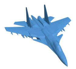Aircraft Su 33 B004114 file stl free download 3D Model for CNC and 3d printer