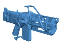 Anthem Sentinel Gun B003866 file stl free download 3D Model for CNC and 3d printer