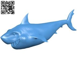 Brucey Shark B004363 file stl free download 3D Model for CNC and 3d printer