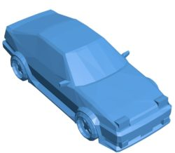 Car AE86 B003864 file stl free download 3D Model for CNC and 3d printer