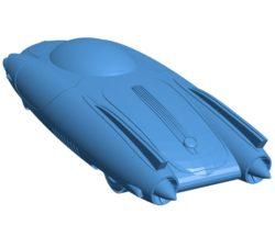 Car Fallout Rocket 69 B003894 file stl free download 3D Model for CNC and 3d printer