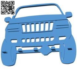 Car jeep key holder B004196 file stl free download 3D Model for CNC and 3d printer