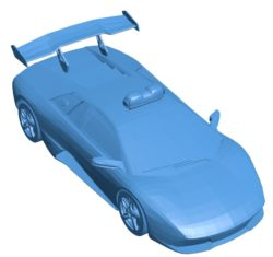 Car police lambo B003875 file stl free download 3D Model for CNC and 3d printer