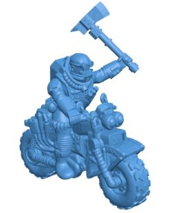 Coyote Biker Leather Men B003852 file stl free download 3D Model for CNC and 3d printer