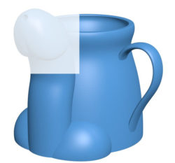 Cup B004004 file stl free download 3D Model for CNC and 3d printer