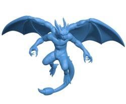 Dragon B004115 file stl free download 3D Model for CNC and 3d printer