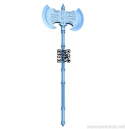 Dwarf ax B004161 file stl free download 3D Model for CNC and 3d printer