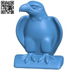 Eagle B004386 file stl free download 3D Model for CNC and 3d printer