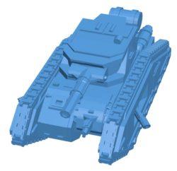 Epic Malcador Tank B003869 file stl free download 3D Model for CNC and 3d printer