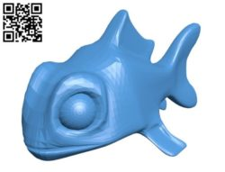 Fish Final B004392 file stl free download 3D Model for CNC and 3d printer