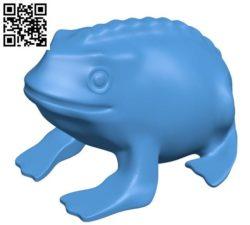 Frog B004369 file stl free download 3D Model for CNC and 3d printer