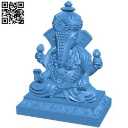 Ganesha B004222 file stl free download 3D Model for CNC and 3d printer