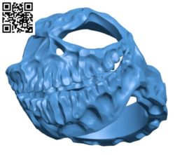 Halloween Ring B004173 file stl free download 3D Model for CNC and 3d printer