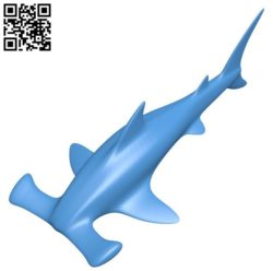 Hammer shark B004290 file stl free download 3D Model for CNC and 3d printer
