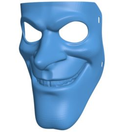 Happy Few bobby mask B004001 file stl free download 3D Model for CNC and 3d printer
