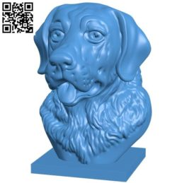 Head Dog B004223 file stl free download 3D Model for CNC and 3d printer