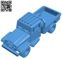IRGC truck B004306 file stl free download 3D Model for CNC and 3d printer