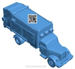 Konflikt '47 truck B004158 file stl free download 3D Model for CNC and 3d printer
