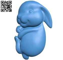 Little rabbit B004401 file stl free download 3D Model for CNC and 3d printer