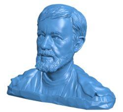 Man B004127 file stl free download 3D Model for CNC and 3d printer