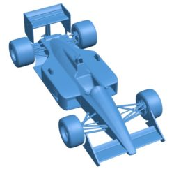 McLaren Car B003787 file stl free download 3D Model for CNC and 3d printer