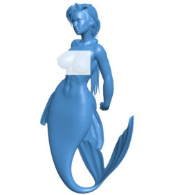 Mermaid B003809 file stl free download 3D Model for CNC and 3d printer